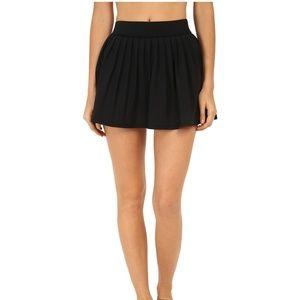 Kate Spade Womens Black Swim Skirt Cover Up NWT